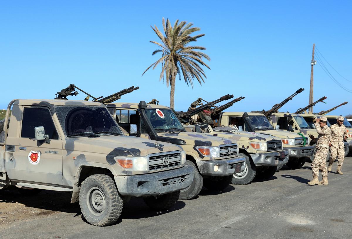 Турецкие войска прибыли в Ливию