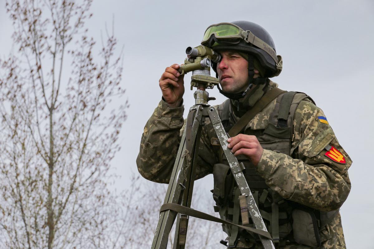 Odyn ukraїns'kyj bojec' otrymav poranennya / mil.gov.ua