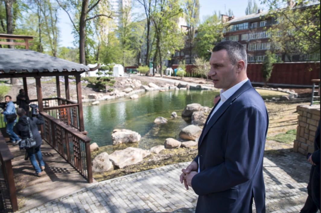 Klyčko pereviryv, jak tryvaje rekonstrukcija Kyїvs'koho zooparku / kiev.klichko.org