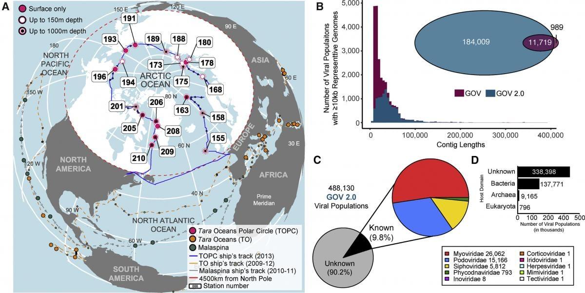 Proekt Global Ocean Viromes 2.0 / Sullivan et al. Cell