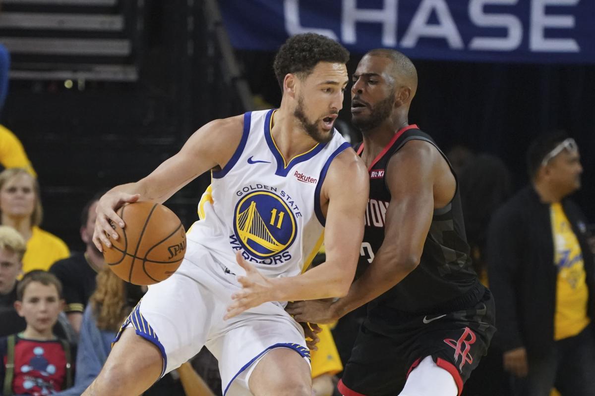 НБА: Голдэн Стейт повел в серии с Хьюстоном, Бостон обыграл Милуоки photo