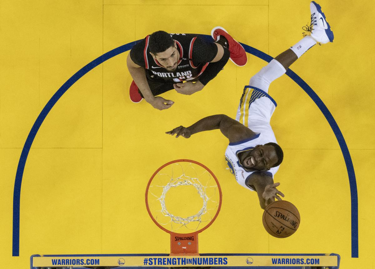 Плей-офф НБА: Голден Стэйт обыграл Портленд (Видео)