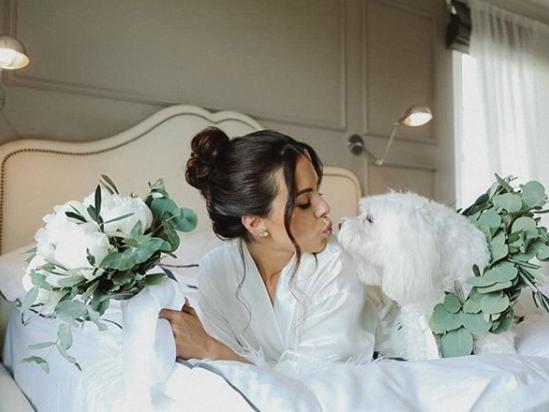 Каменських зачарувала мережумилим фото зі своєю собакою / фото instagram.com/kamenskux