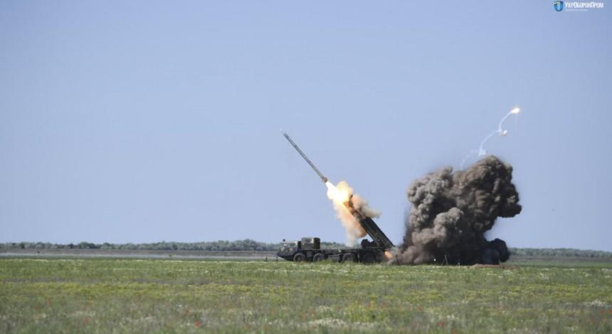 """Z'javylysya foto ta video z vyprobuvan' v Ukraїni modernizovanyx raket """"Vil'xa"""""""