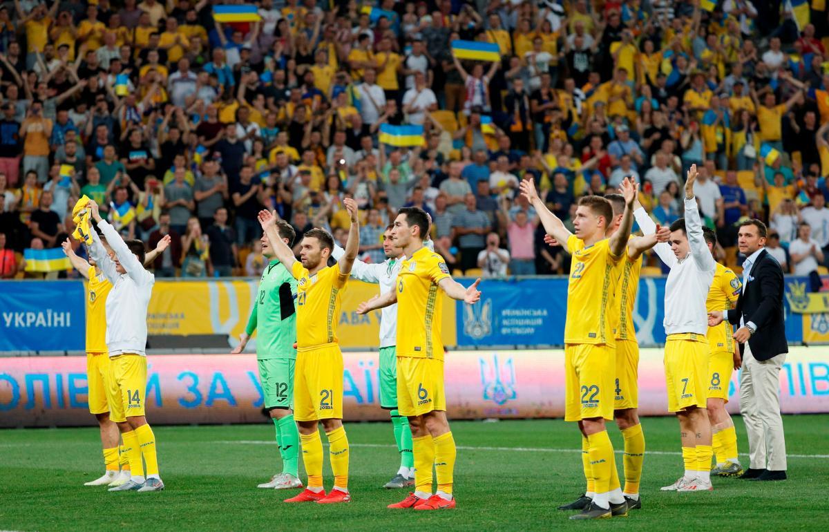 Zbirna Ukraїny / REUTERS