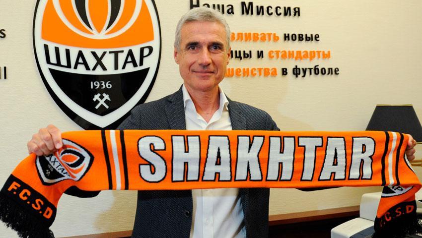 Luїš Kaštru - novyj holovnyj trener Šaxtarya / foto: FK Šaxtar