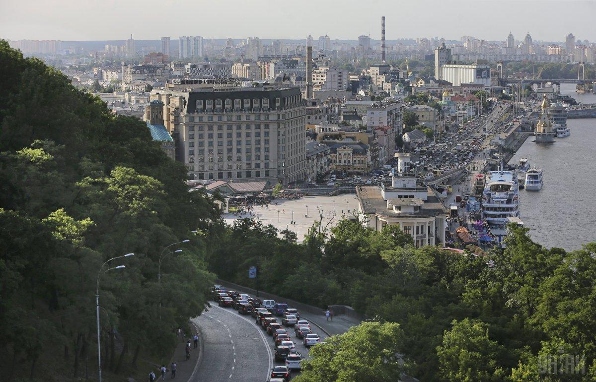 U Kyjevi zavtra bude teplo / UNIAN