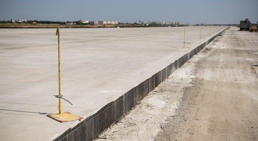 Na rekonstrukciju aeroportu v Dnipri vyrišyly vydilyty 200 mln hrn