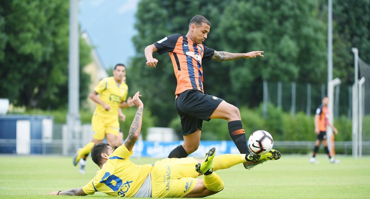 Šaxtar zustričavsya z Apoelom / foto: FK Šaxtar