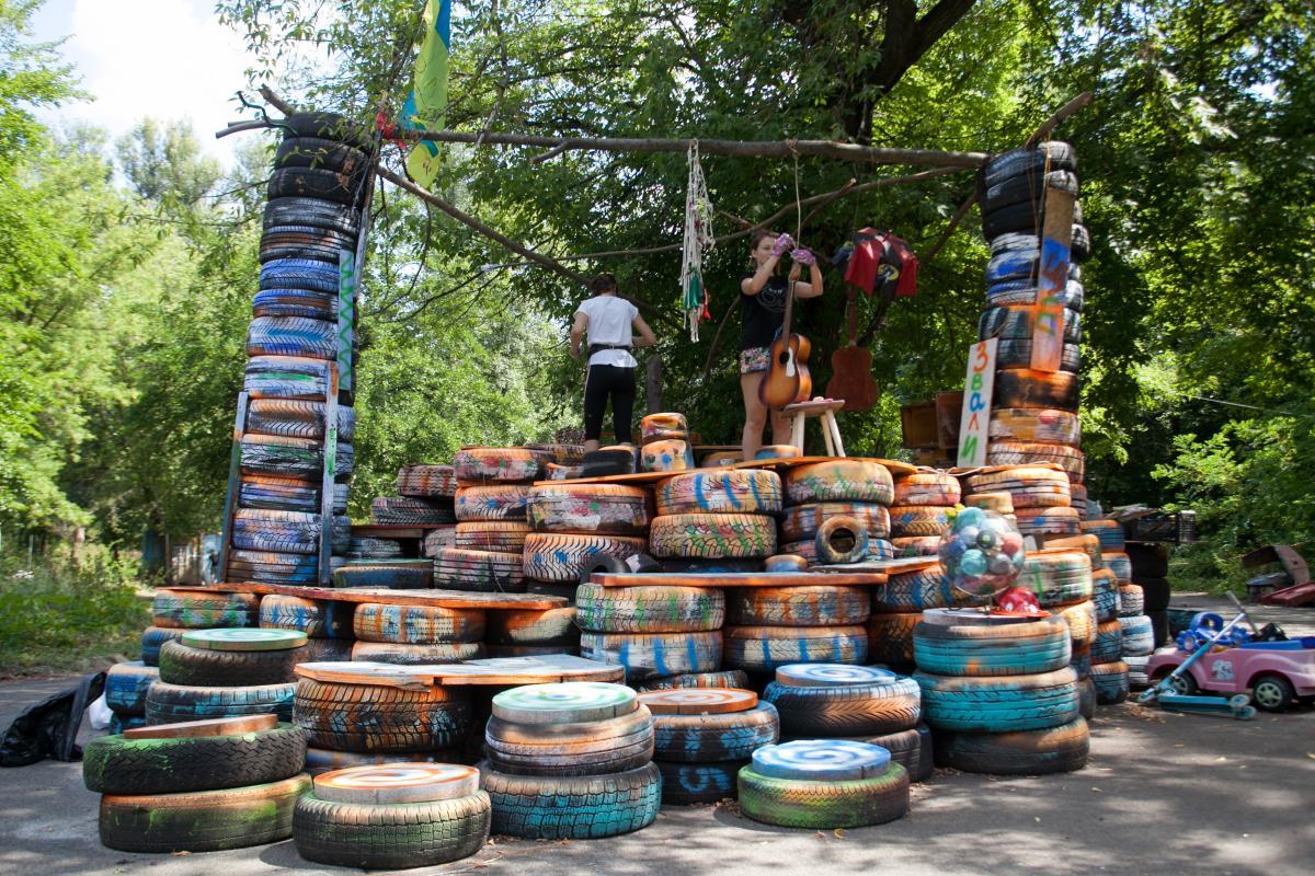 "U stolyci rozpočato uporyadkuvannya ""Hidroparku"" / foto: kyivcity.gov.ua"