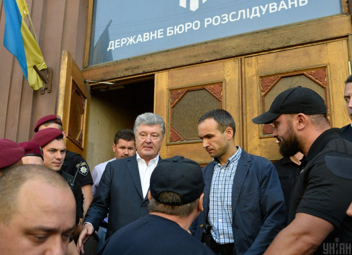 """О """"госизмене"""" в Минске: ГБР вызывает Порошенко на два допроса и угрожает приводом"""