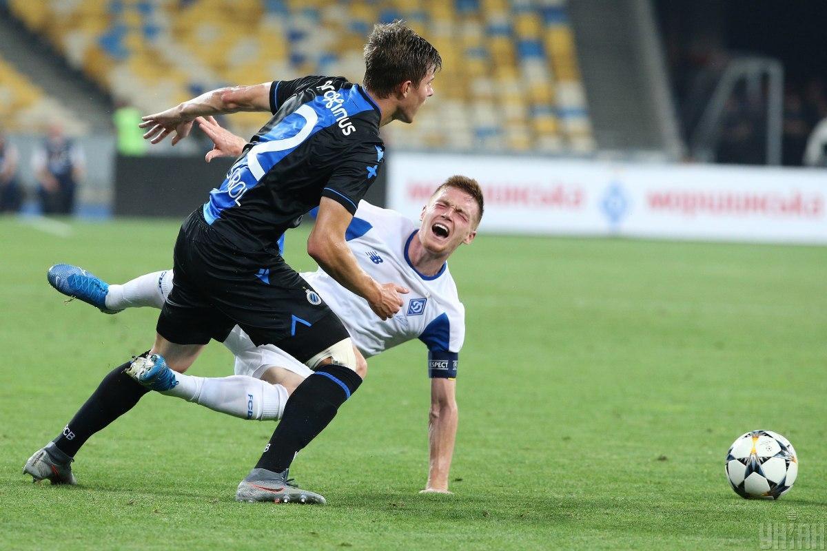Dynamo ne zumilo projty Bryuhhe / foto: UNIAN