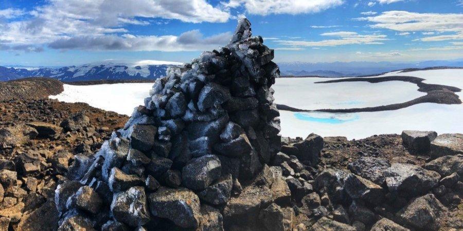 Льодовику Окйокулль було 700 років / фото Dominic Boyer/Cymene Howe/Reuters