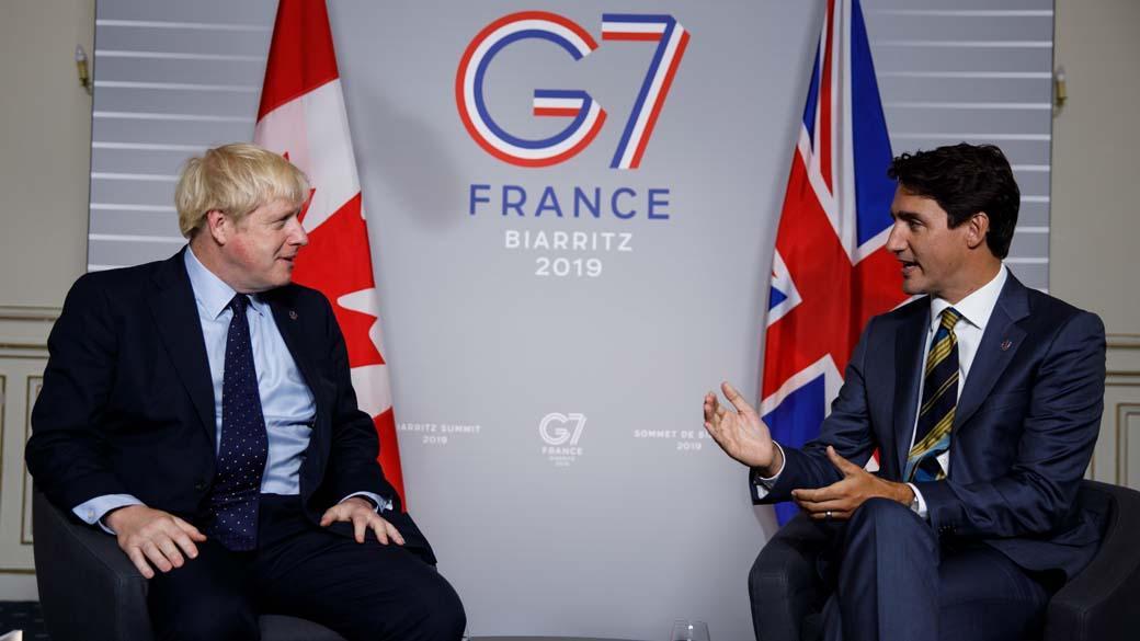 Джонсон і Трюдо обговорили повернення Росії в G7 / pm.gc.ca