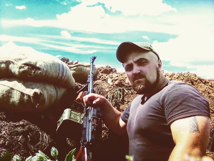 """Боєць з позивним """"Тихий"""" загинув в результаті обстрілу з кулемета / фото: Facebook/ЮрійБутусов"""