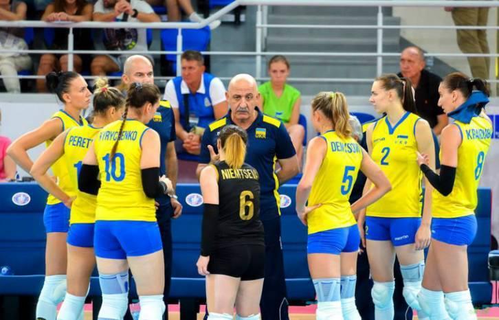 Сборная Украины потерпела второе разгромное поражение на женском ЧЕ по волейболу