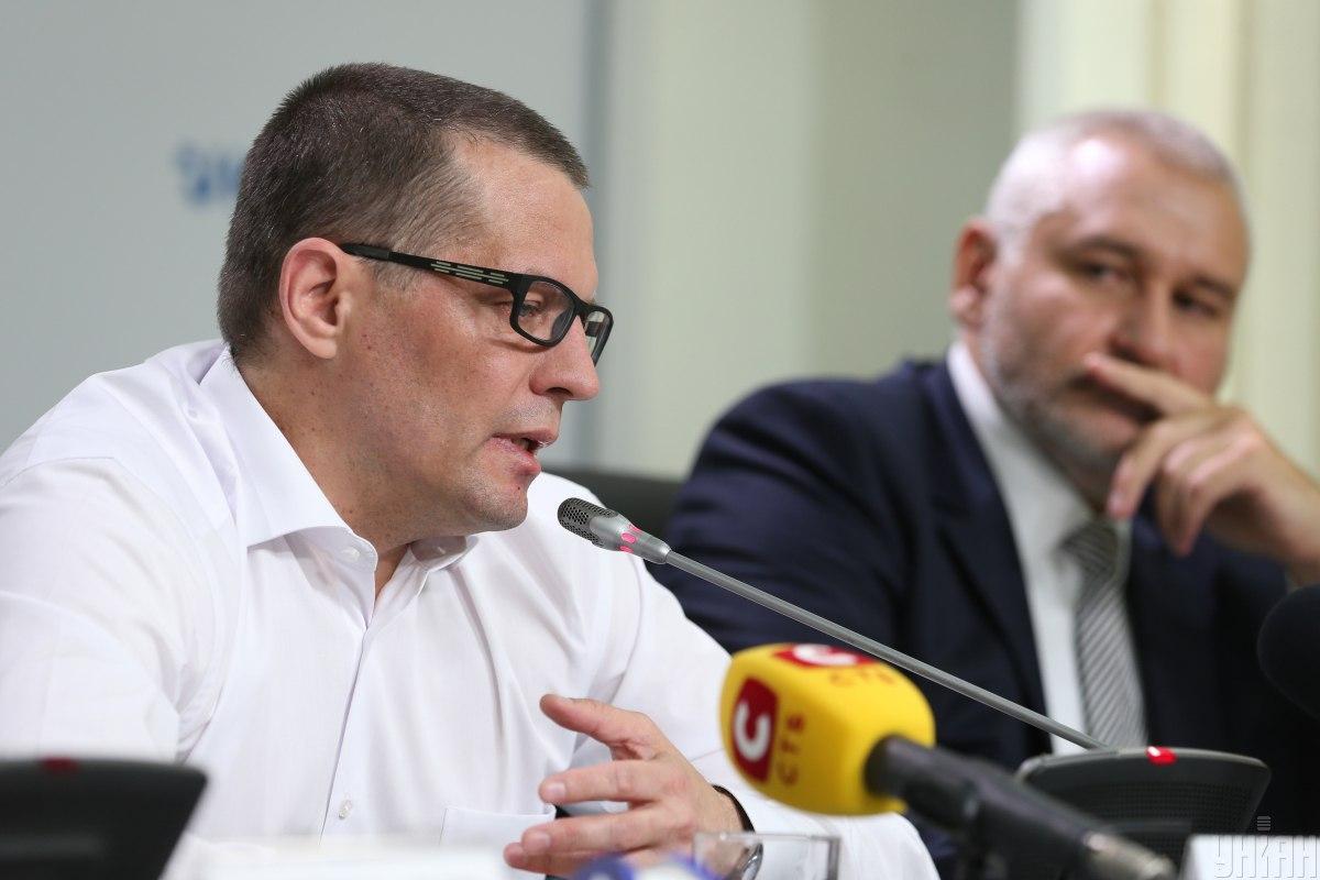 Сущенко сьогодні дав прес-конференцію / фото УНІАН