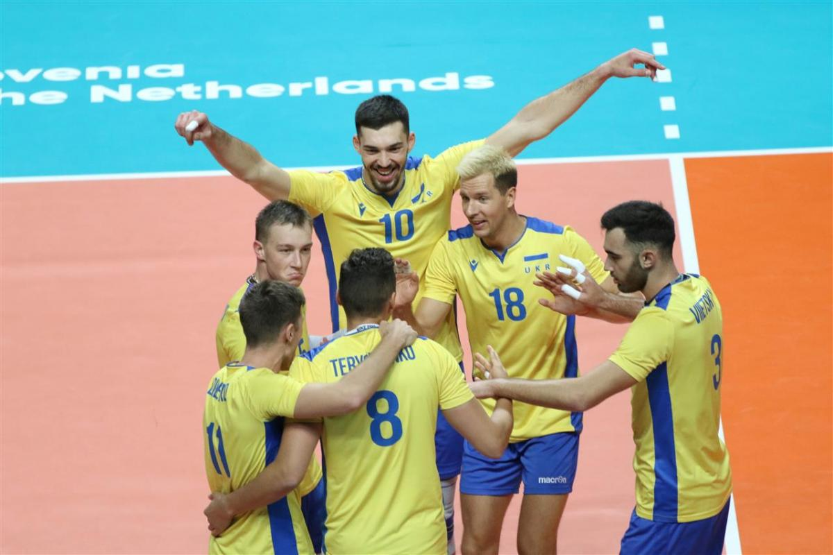 Збірна України обіграла бельгійців / фото: cev.eu