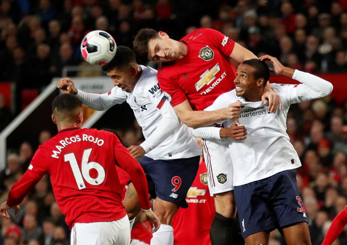 Манчестер Юнайтед - Ліверпуль / REUTERS