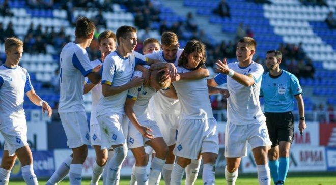 Динамо сыграло вничью с македонцами и вышло в следующий раунд Юношеской лиги УЕФА photo