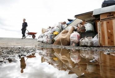 "Čyslo žertv tajfunu ""Xahibis"" v Japoniї zbil'šylosya do 58 osib"