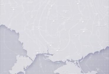Prohnoz pohody v Ukraїni na p'jatnycyu, večir 18 žovtnya