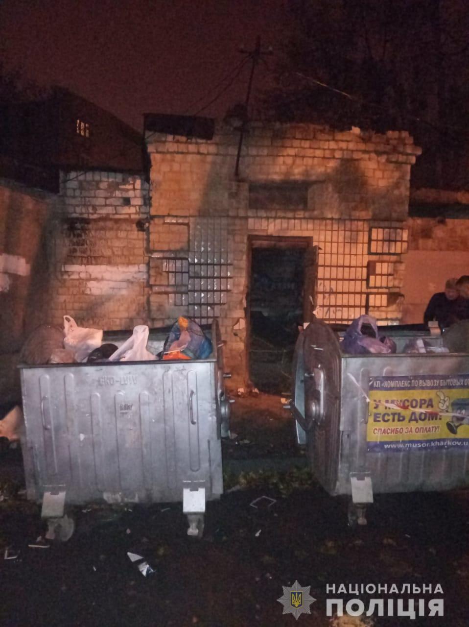 Тіло знайшли біля баків зі сміттям / hk.npu.gov.ua