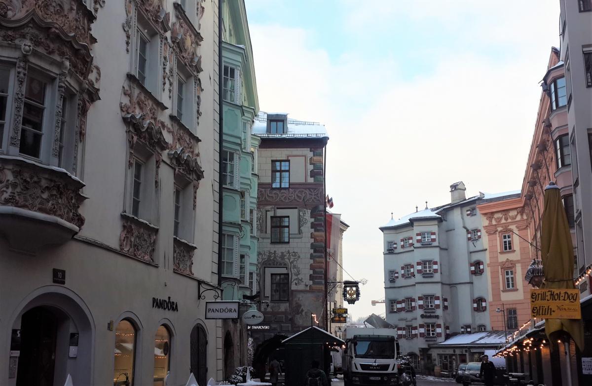 Австрійці ніжно бережуть історичну забудову / Фото Марина Григоренко