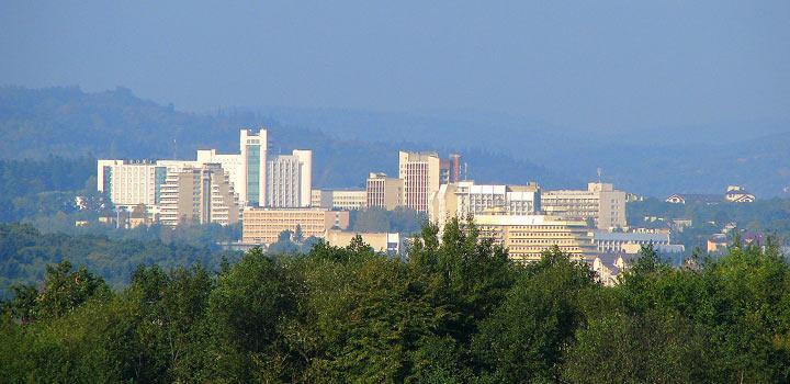 Аквапарк розміститься на місці найвищого недіючого будинку у Львівській області / truskavich.com