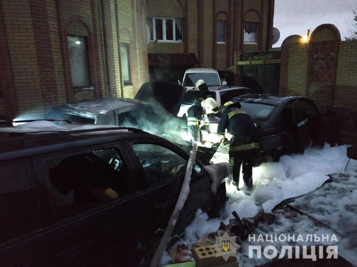 Речові докази, зокрема розчинники, вилучено / ГУНП в Харківській області