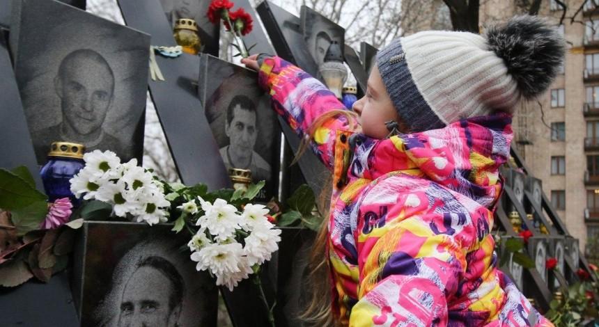 У Києві на місці майбутнього музею Революції Гідності відкрили виставку