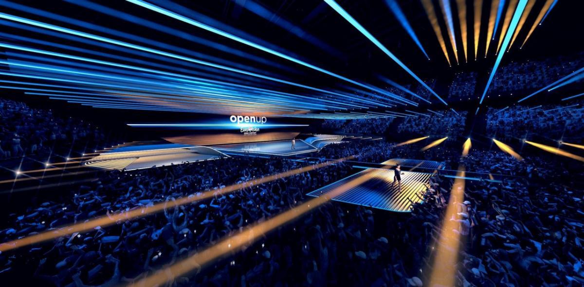 Дизайн сцени розробив німець Флоріан Відер / Фото: НВО/AVROTROS/NOS