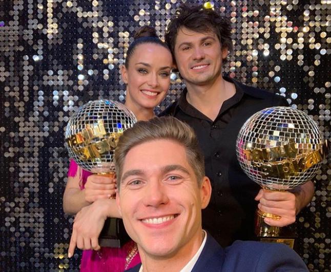 """Мішина і Кот перемогли у""""Танцях з зірками 2019"""" / instagram.com/vova_ostapchuk"""