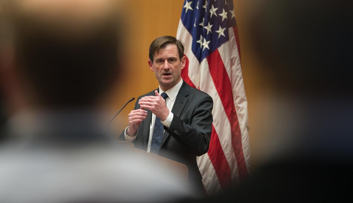 Девід Хел заперечив, що Україна втручалася у американські вибори/ Flickr/United States Mission Geneva