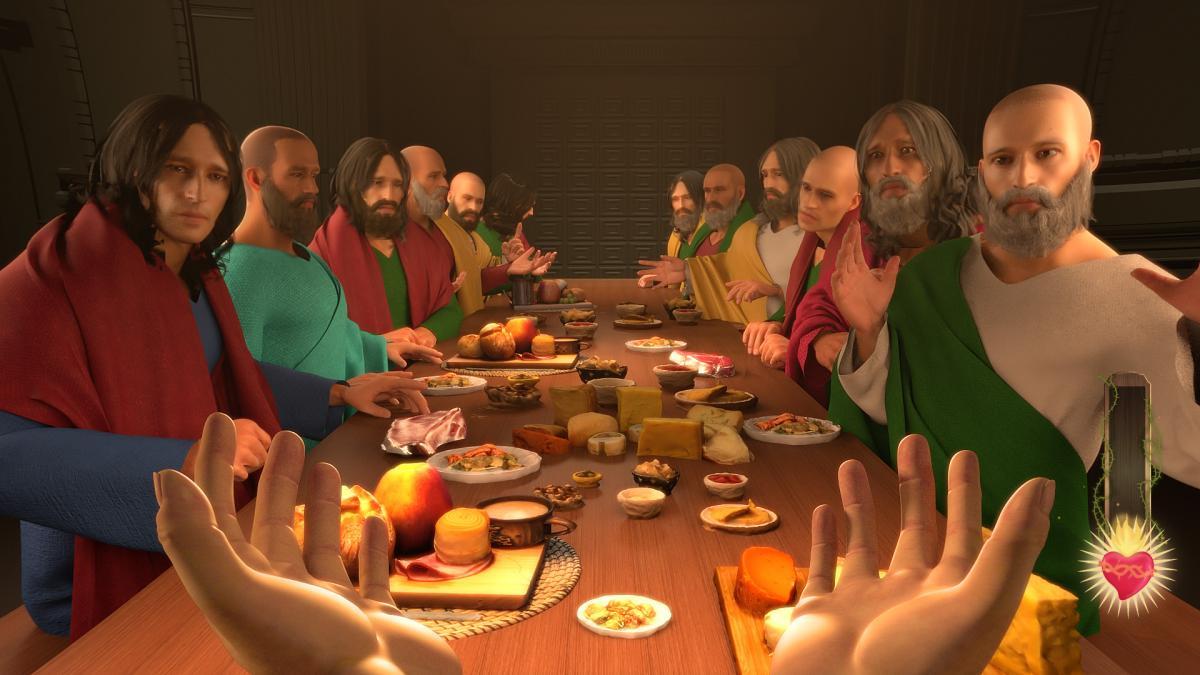 Гра розповість про головні діяння Ісуса Христа / store.steampowered.com