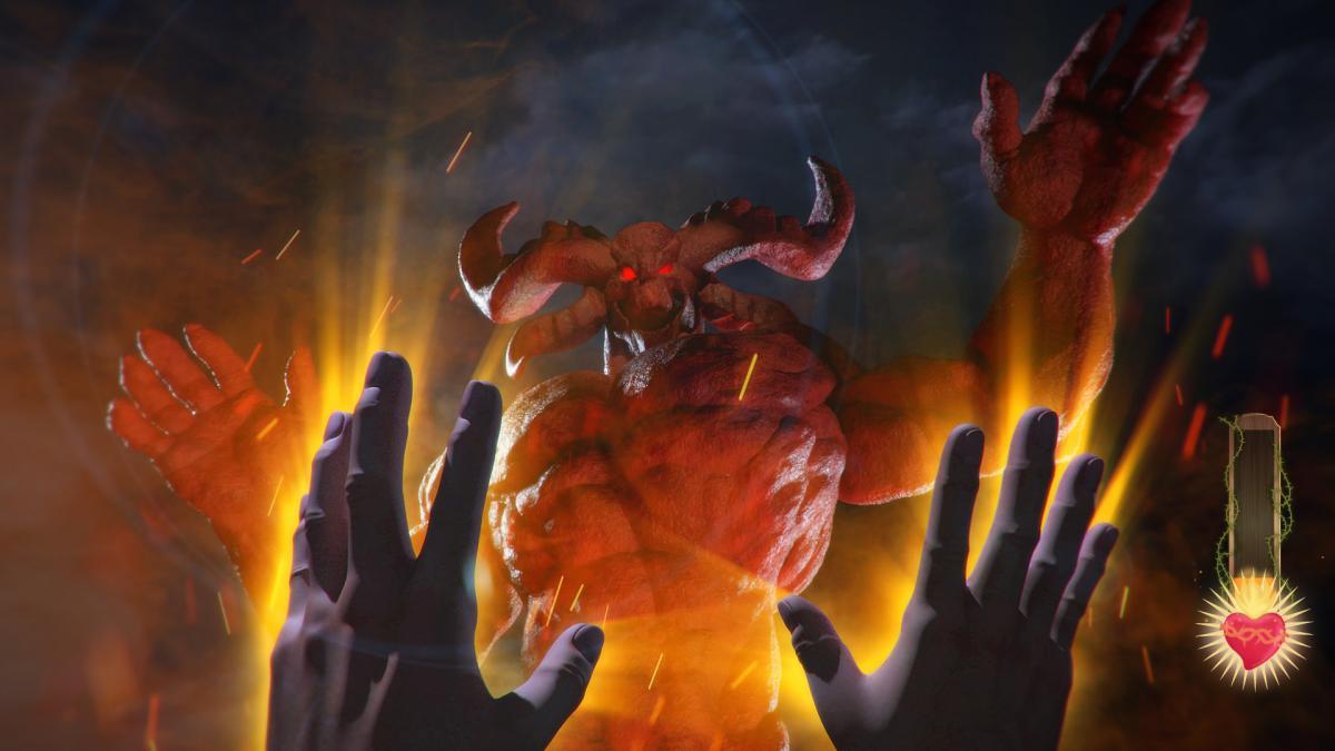 У I Am Jesus Christ можна буде битися з Сатаною / store.steampowered.com