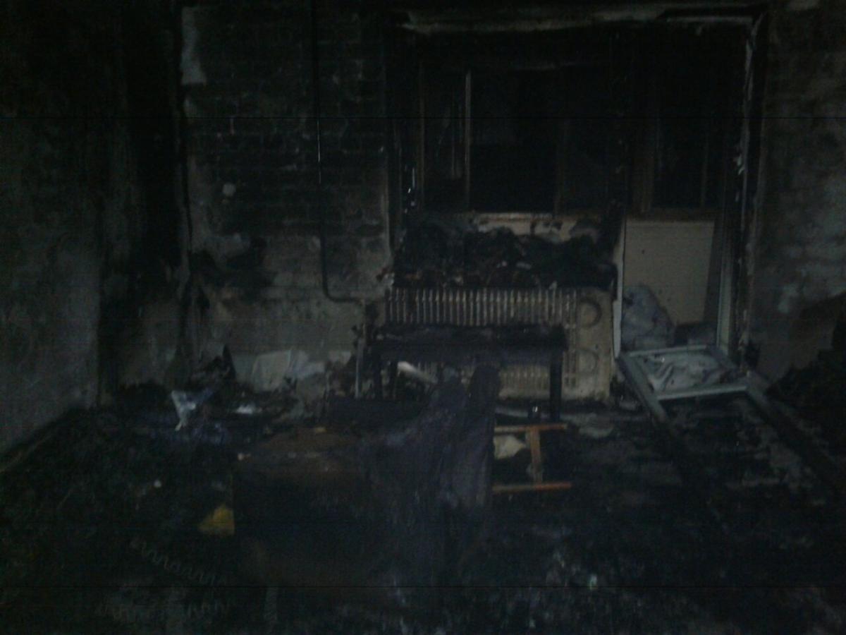Під час пожежі постраждало троє дітей 2016 р.н. та 2018 р.н. / Фото: ДСНС