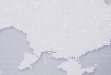 Prohnoz pohody v Ukraїni na p'jatnycyu, večir 6 hrudnya