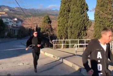 """Su*a, ščob nohy tvojeї tut ne bulo"": Panin pokazav, jak joho zustrily v okupovanomu Krymu (video)"