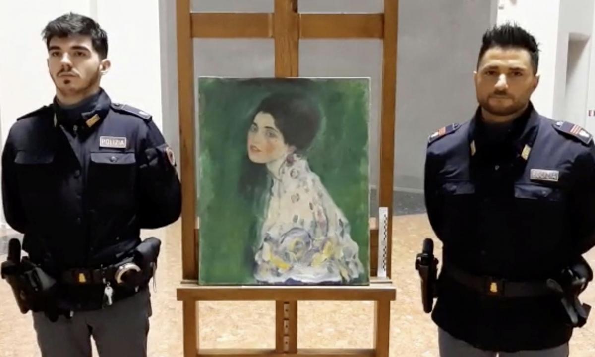 В Италии случайно нашли украденную картину Климта