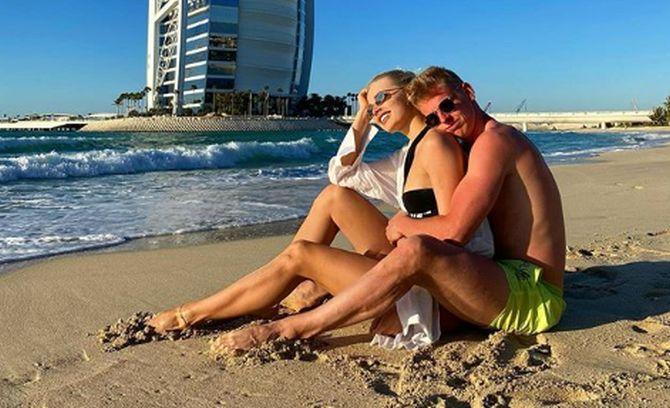 Олександр Зінченко і Влада Седан / фото: instagram.com/zinchenko_96