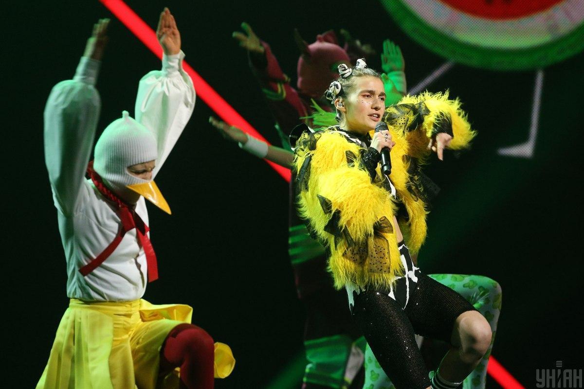 Jerry Heil другою виступатиме у фіналі Нацвідбору на Євробачення/ фото УНІАН