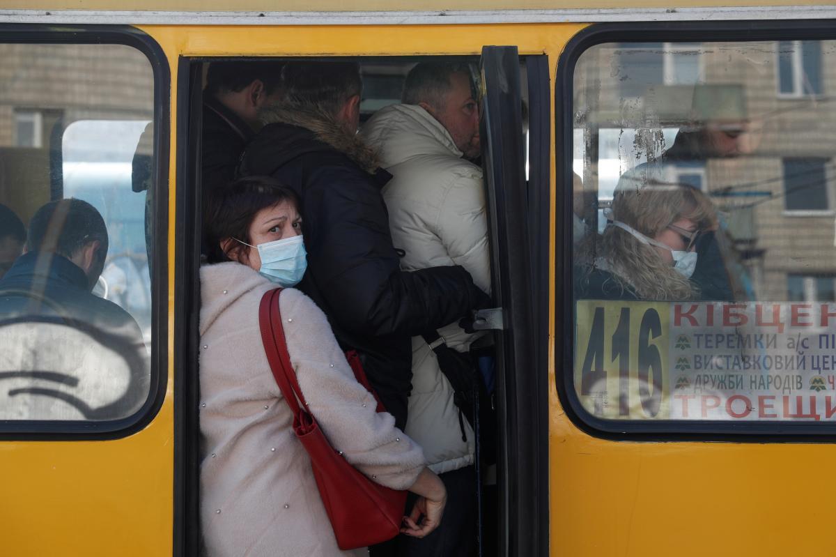 Локдаун в Киеве — в транспорте разрешили ездить стоя — УНИАН