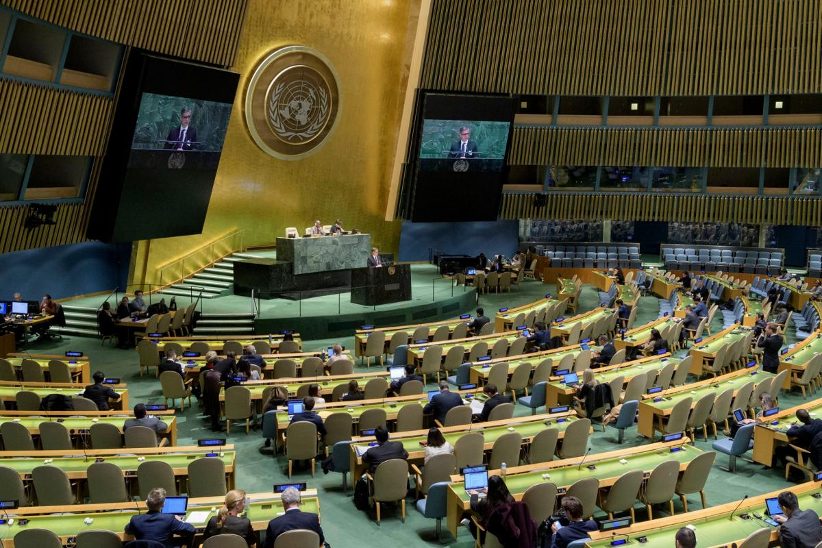 Украина в ООН первой в 2021 году оплатила все взносы — Новости