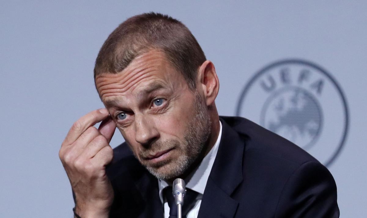 Александер Чеферин - УЕФА обратился к ФИФА с предложением пересмотреть правило игры рукой в футболе — Новости футбола —