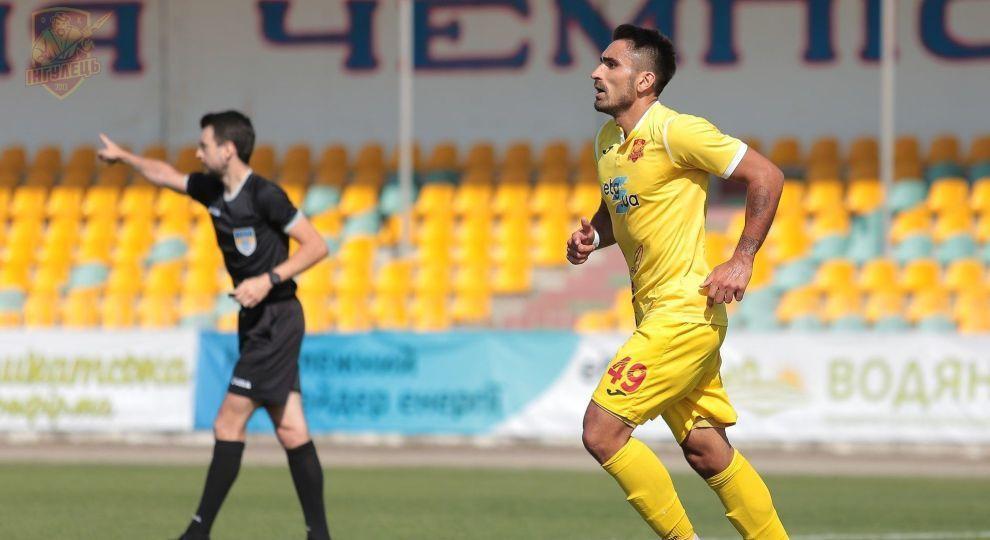 Футболіст українського клубу забив шедевральний гол на першій хвилині матчу