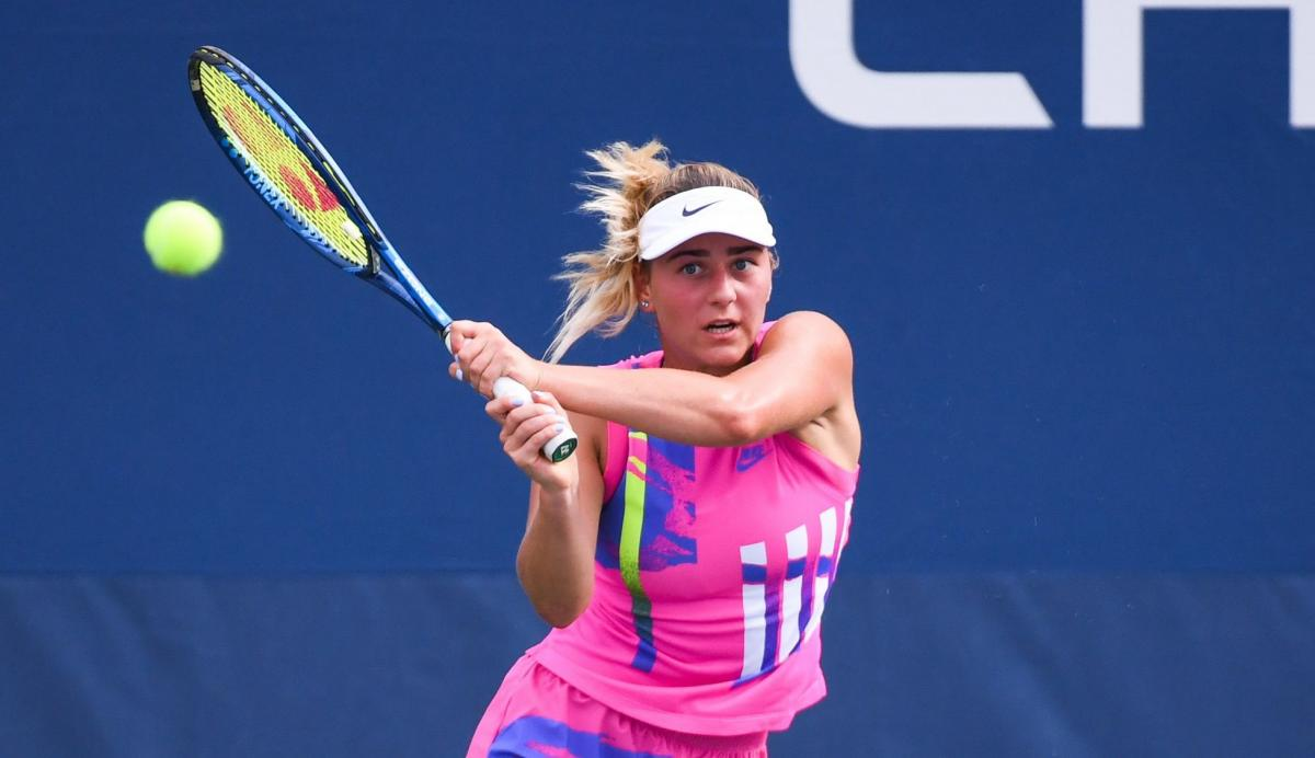 Марта Костюк - украинская теннисистка Костюк уступила россиянке на старте турнира в Австрии — novosti-sporta —