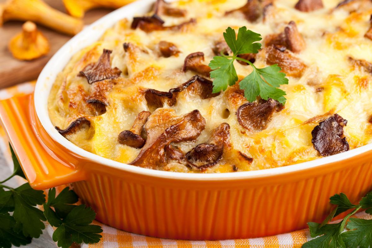 Картошка с грибами рецепт - как приготовить картофель с грибами —