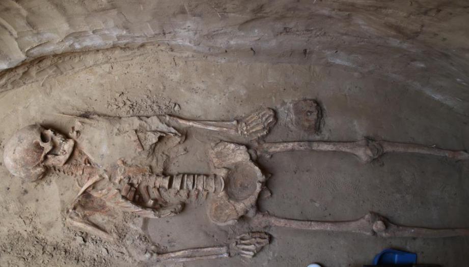 На Хортице археологи раскопали древнее захоронение скифского воина-гиганта