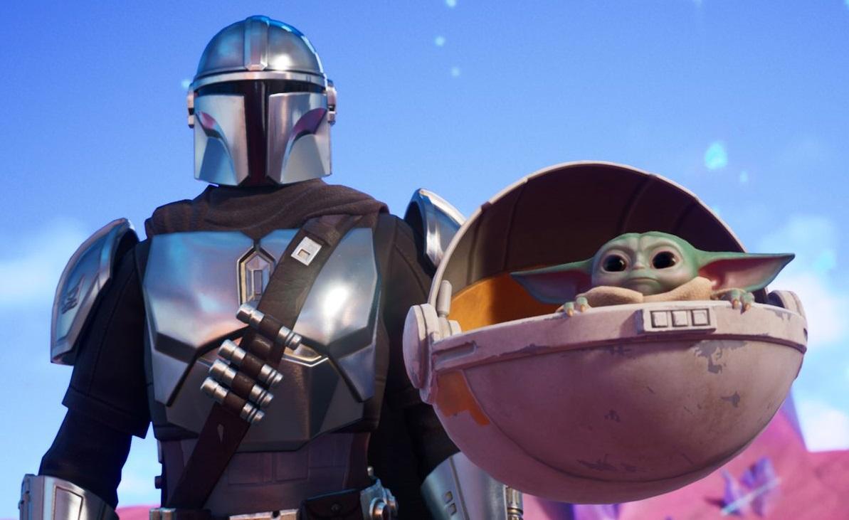 В новом сезон Fortnite появятся Мандалорец и малыш Йода — игры
